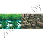 Фон для аквариума водопад/камни 50х15/2ст 9037/9057