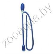 А01-1002 Сифон синий с грушей и тройником (AS-555)
