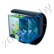 "Аквариум  Tetra Silhouette LED Tank 12л ""Силуэт"",  24х18х23 см., свет LED12W, фильтр Easy Crystal"