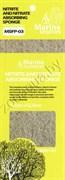Губка NITRATE REDUCTION FILTER SPONGE  32,5х12,5х1,5см