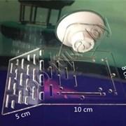 Accessory 010 Универсальный СУПЕР-ПЛОТ для черепах с мощной присоской 15 х 8 х 3 см