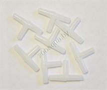item-790 Тройник пластиковый универсальный 4мм (1шт), упак 200шт