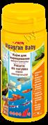 Sera Vipagran baby 50ml/24g корм в гранулах для мальков  (0700)