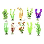 Пластиковое растение Полянка МИКС (10шт)