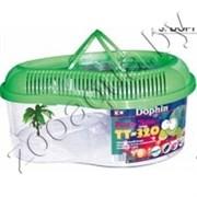 Пластиковый аквариум для черепахи ТТ-350