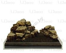 """UDeco Leopard Stone MIX SET 15 - Натуральный камень """"Леопард"""" для оформления аквариумов и террариумов"""
