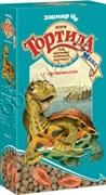 """ТОРТИЛА М """"Крепкий панцирь"""" - гранулир. корм для водяных черепах с кальцием, 90 г"""