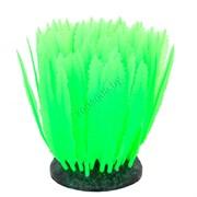 GL-268230 GLOXY Морская лилия зеленая, 10х7,5х11см Флуорисцентная аквариумная декорация