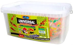 001.911203  УНИВЕРСАЛ ЭКОНОМ 11л/1800г -хлопья (flake),основ. универ. корм для неприхотливых видов