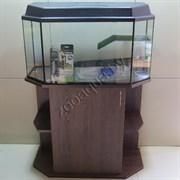 """Черепашатник Aqua """"панорама"""" на 105 л. готовый комплект с оборудованием"""