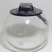 Аквариум Aqua круглый на 8 л. с крышкой
