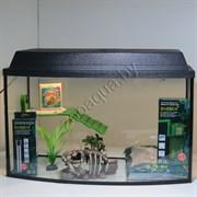 Черепашатник Aqua TV на 68 л. готовый комплект с оборудованием и декором