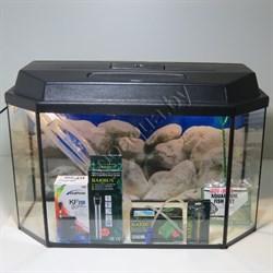 """Аквариум Aqua """"Панорама"""" 60 л.  готовый комплект с оборудованием 1 - фото 21565"""