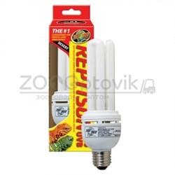 Лампа для террариума Zoo Med Reptisun 10.0 UVB Mini 13W - фото 28525