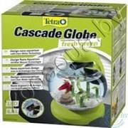 Аквариум Tetra Cascade Globe GREEN (зеленый) 6,8л круглый с LED светильником (256620)