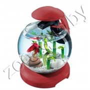 Аквариум Tetra Cascade Globe RED (бордовый) 6,8л круглый с LED светильником