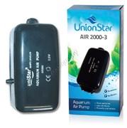 RESUN Air 2000-3 Компрессор 5w, 210л/ч, 45-270л, 2кан., регул.