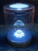 Аквариум пластиковый цилиндр KW Zone Dophin T108,5.2л голубой