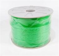Шланг силиконовый зеленый 100 м. на бобине (KW)