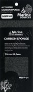 Губка SUPER ACTIVATED CARBON SPONGE 32,5х12,5х1,5см