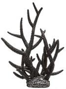 Decor 256 (Barbus) Пластиковый коралл ЧЁРНЫЙ 27*24*31 см