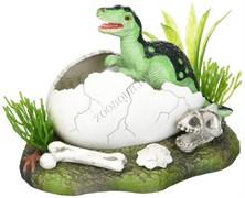 Декор для аквариума Вылупление Динозавра из яйца  OJ-2