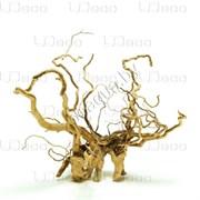 """UDeco Desert Driftwood XXS - Натуральная коряга """"Пустынная"""" для оформления аквариумов и террариумов, 1 шт."""