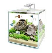 Q-SCAPE  30  8 пластик. уголков, покровное стекло, черный герметик, стекло Pilkington Optifloat™ (п