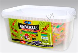 001.911098  БАЗИС 10л/2050г- хлопья (flake), универсальный корм для всех видов рыб (ведро)