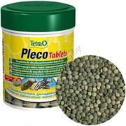 Tetra Plecco Tablets 58 табл. (Корм для сомиков со спирулиной)