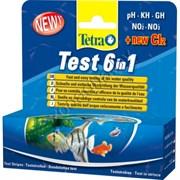 TETRA Тест 6 в 1 (+СL2) полоски 25 шт NEW