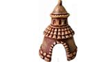 Замок-черепашка (шоколад) Р-46