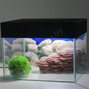 Черепашатник Aqua на 23 л.  комплект с декором и оборудованием