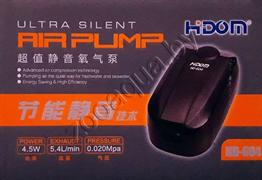 Компрессор Hidom HD-604, 4.5 W, 2 л/мин. х 2, двухканальный с регулятором