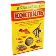 ''КОКТЕЙЛЬ''- ежедневный корм для аквариумных рыб /2 в 1