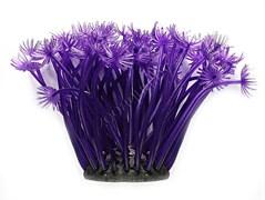 Коралл SH 188 ( PU ) фиолетовый  из латекса ( Canal) 5x5x10 см