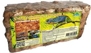 Террариумный субстрат кокосовые чипсы 550 гр