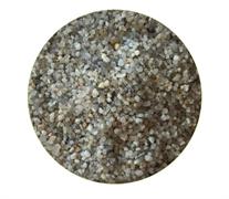 Натуральный кварцевый грунт «Куба-1» окатанный 0,8-1,4 мм