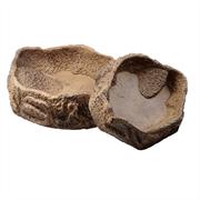 JBL Reptil Bar SAND XL - Поилка/кормушка для рептилий, песочная, 20 х 18 х 6 см