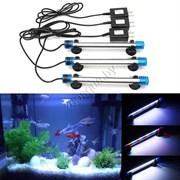 LED 030 Универсальный светодиодный светильник ГОЛУБОЙ 60 см 8 ватт
