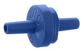 Accessory 104 Обратный клапан синий Ф-4 мм (1шт)
