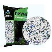 Грунт PRIME Зимний лес (бело-зелено-голубой) 3-5мм 2,7кг  PR-000169