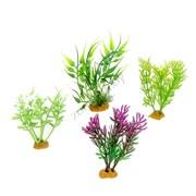 Набор пластиковых растений PRIME 4шт