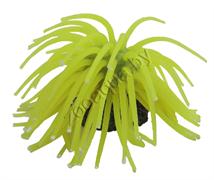 """YM-1106A Декор из силикона """"Коралл мягкий"""" (желтый) 10*10*6.5см"""