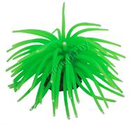 """YM-1106B Декор из силикона """"Коралл мягкий"""" (зеленый)10*10*6.5см"""