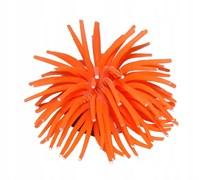 """YM-1106C Декор из силикона """"Коралл мягкий"""" (оранжевый) 10*10*6.5см"""