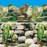 Плоские камни/Камни с растениями (двухсторонний) 50см