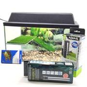 """Черепашатник """"Aqua"""" на 25 л. готовый комплект c оборудованием и декором Best"""