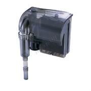 Фильтр рюкзачный Atman HF-0600 для аквариумов до 100 л, 660 л/ч, 6W с поверхностным скиммером (черный корпус)
