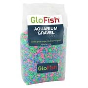 Грунт GLOFISH Розовый / Зеленый / Синий с флуоресцентными GLO частицами, 2,26кг